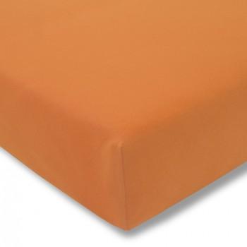 Простыня на резинке Estella 360/orange