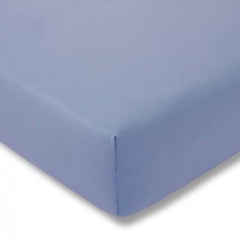 Простыня на резинке Estella 160/hellblau