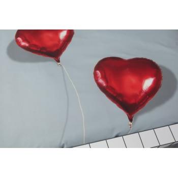 Двуспальный комплект постельного белья SNURK Сердце в облаках 200/220 см.