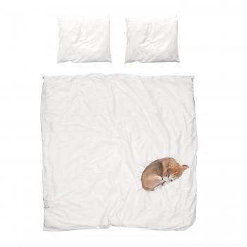 Двуспальный комплект постельного белья SNURK Собака Боб 200/220 см.