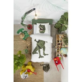 Двуспальный комплект постельного белья SNURK Тираннозавр Рекс 200/220 см.
