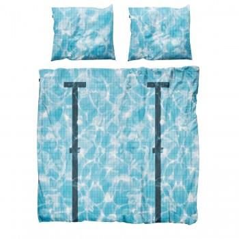 Двуспальный комплект постельного белья SNURK Бассейн 200/220 см.