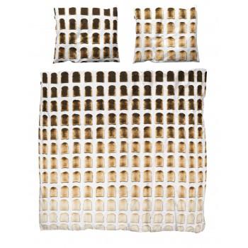 Двуспальный комплект постельного белья SNURK Тост 200/220 см.