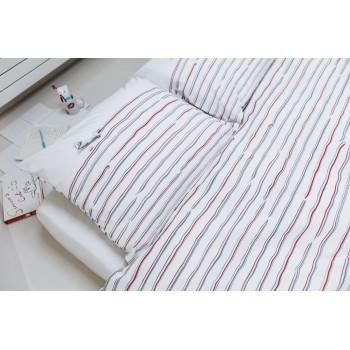 Двуспальный комплект постельного белья SNURK Зубная паста 200/220 см.