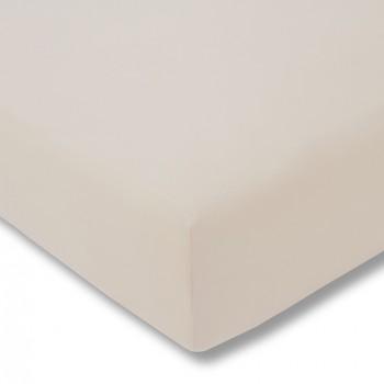 Простыня на резинке Estella 200/beige 100/200 см