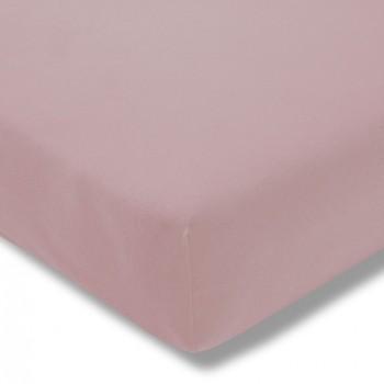 Простыня на резинке Estella 400/rosa 100/200 см