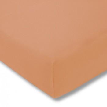 Простыня на резинке Estella 450/apricot 160/200 см
