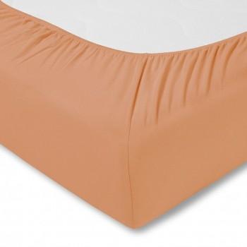 Простыня на резинке Estella 450/apricot