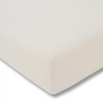 Простыня на резинке Estella 110/elfenbein 160/200 см