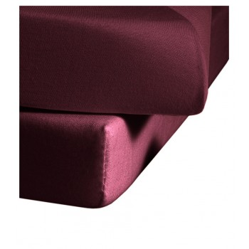 Простыня на резинке Estella 675/pflaume 150/200 см