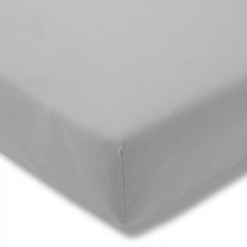 Простыня на резинке Estella 915/platin 100/200 см