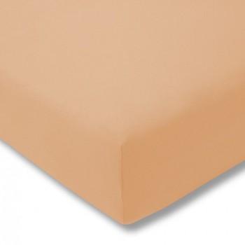 Простыня на резинке Estella 180/sand