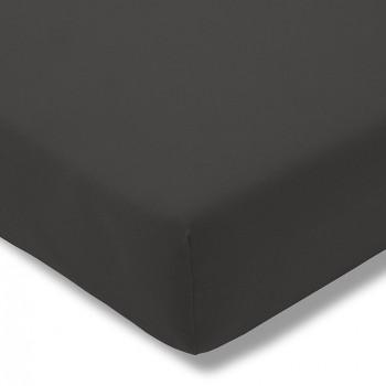 Простыня на резинке Estella 905/schiefer 160/200 см