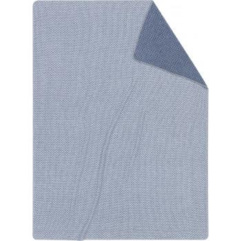 Плед Biederlack Close up Blue 150/200 см