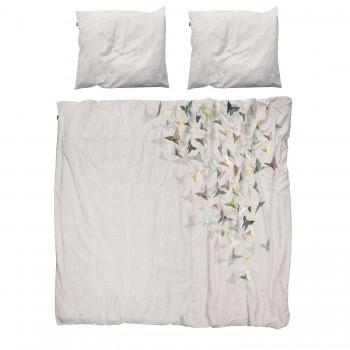 Двуспальный комплект постельного белья SNURK Бабочки 200/220 см.