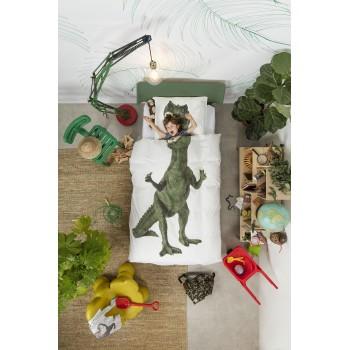 Комплект постельного белья SNURK Тираннозавр Рекс 150/200 см.