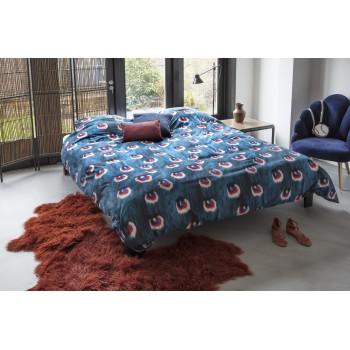 Двуспальный комплект постельного белья SNURK Peacock Fur 200/220 см.