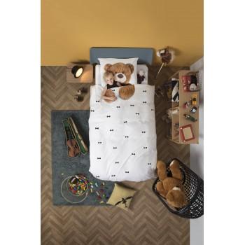 Двуспальный комплект постельного белья SNURK Плюшевый мишка 200/220 см.