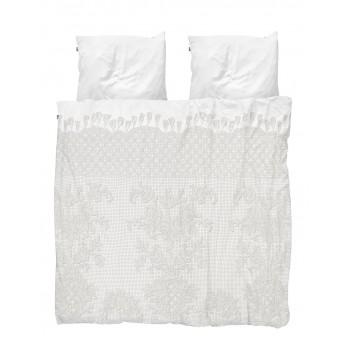 Двуспальный комплект постельного белья SNURK Венецианское кружево 200/220 см.