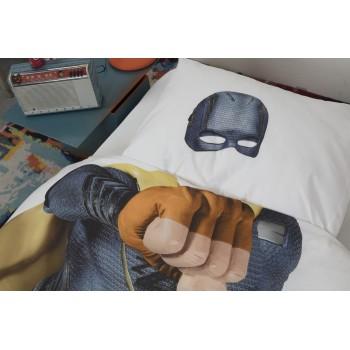 Комплект постельного белья SNURK Супергерой 150/200 см.